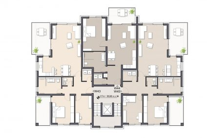 Wohnung 43