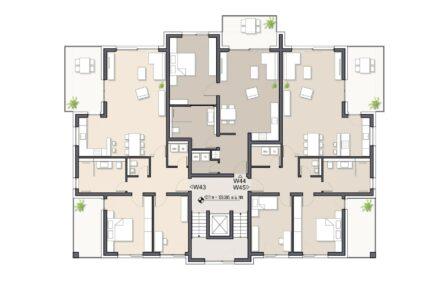 Wohnung 45